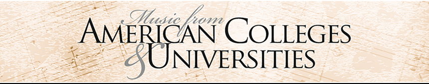 American Colleges and Universities Choral Series
