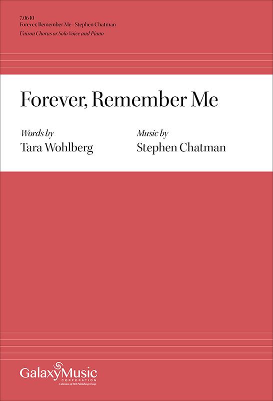 Forever, remember me