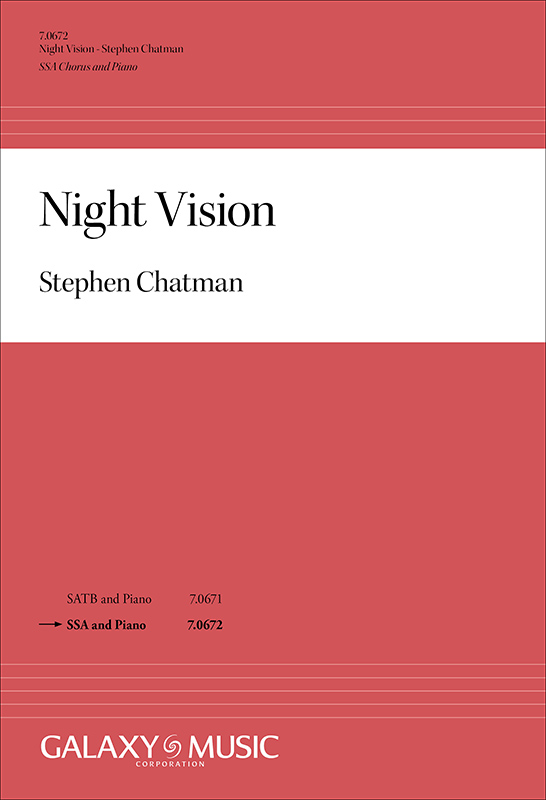 1a2d8594 Featured Recording: Dawn of Night, choral music by Stephen Chatman ...
