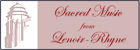 Sacred Music from Lenoir-Rhyne Series